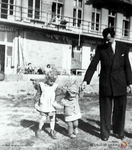 6 - 1946, 1948, intendent frydel z tylu szpitala-zl-1
