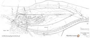 7 - 1940 - plan nowy most, stocznia na Ostrowie - 1940