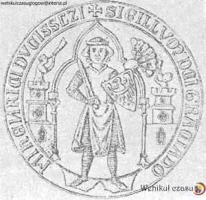 5 - 1293, Henryk Brzuchaty, pieczęć piesza