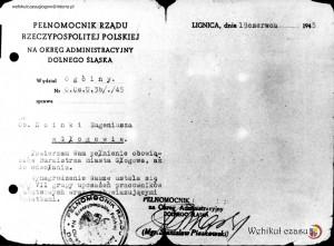 9 - 1945 - mianowanie Hoinki