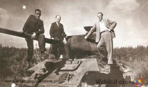 10 - 1945 Moszowice czołg
